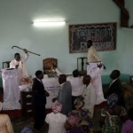 Special worship service of May 18, 2014 at Nkomkana