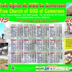 The Year 2015 calendar of the Church
