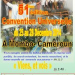 Convention universelle de Mombo 2014